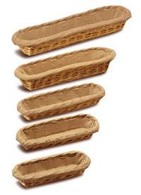 Corbeilles à pain osier entoilé - Devis sur Techni-Contact.com - 1