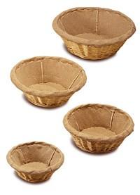 Corbeilles à pain rondes en osier - Devis sur Techni-Contact.com - 1