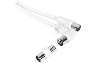 Cordon antenne TV 10m - Devis sur Techni-Contact.com - 1