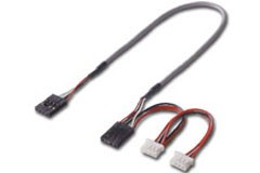 Cordon audio interne 2 femelle 60cm - Devis sur Techni-Contact.com - 1