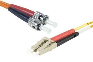 Cordon fibre optique Multimode 3m - Devis sur Techni-Contact.com - 1