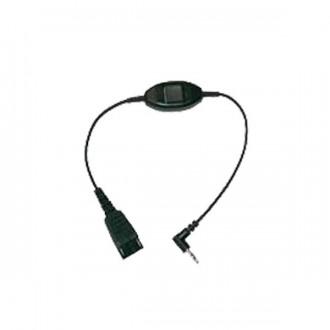 Cordon Jack 3.5mm Jabra pour téléphone Alcatel - Devis sur Techni-Contact.com - 1