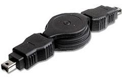 Cordon rétractable firewire 6/4 m - Devis sur Techni-Contact.com - 1