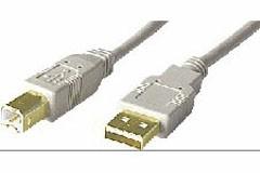 Cordon USB certifié 2.0 type A/B M/M 2.00M - Devis sur Techni-Contact.com - 1