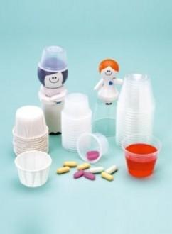 Coupelle plastique 15 ml et papier soufflé - Devis sur Techni-Contact.com - 1