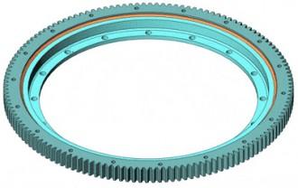 Couronne d'orientation SLBP 32 denture int. diam ext 486 mm - Devis sur Techni-Contact.com - 1