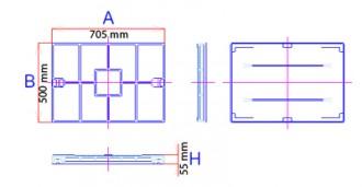 Couvercle de regard à remplir C 250 - Devis sur Techni-Contact.com - 2