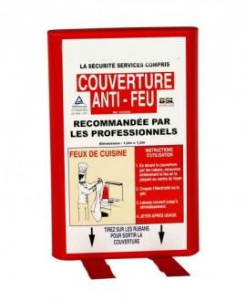 Couverture anti feu en fibre de verres - Devis sur Techni-Contact.com - 2