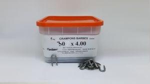 Crampons barbés de 30 x 4 mm - Devis sur Techni-Contact.com - 1