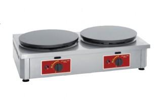 Crêpière à double plaque électrique - Devis sur Techni-Contact.com - 1