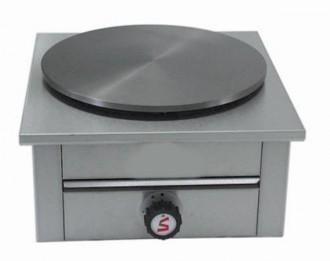 Crêpière à gaz 1 plaque - Devis sur Techni-Contact.com - 1