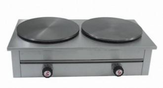 Crêpière à gaz 2 plaques - Devis sur Techni-Contact.com - 1