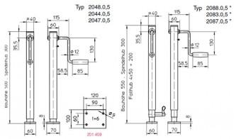 Cric de mise en hauteur 0,5 tonnes - Devis sur Techni-Contact.com - 2