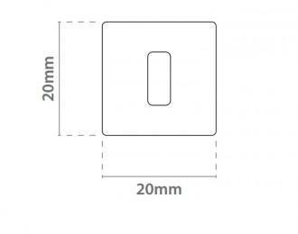 Crochet rail plafond pour affichage suspendu - Devis sur Techni-Contact.com - 2