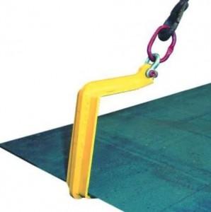 Crochets simples pour plaques horizontales utilisation par 4 avec palonnier - Devis sur Techni-Contact.com - 1