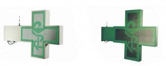 Croix de pharmacie à LED programmable - Devis sur Techni-Contact.com - 1