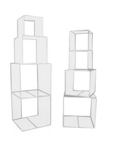 Cube de présentation plexi - Devis sur Techni-Contact.com - 1