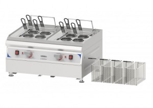 Cuiseur à pâtes électrique à 4 paniers rectangulaires - Devis sur Techni-Contact.com - 1
