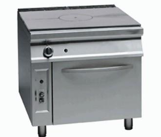 Cuisinière à gaz coup de feu avec four - Devis sur Techni-Contact.com - 1