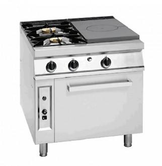 Cuisinière à gaz coup de feu avec four - Devis sur Techni-Contact.com - 2