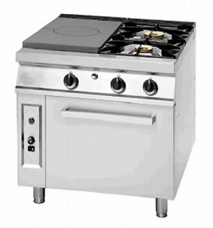 Cuisinière à gaz coup de feu avec four - Devis sur Techni-Contact.com - 3