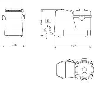 Cutter-mélangeur de table - Devis sur Techni-Contact.com - 2
