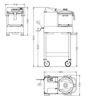Cutter-mélangeur pour cuisines - Devis sur Techni-Contact.com - 2