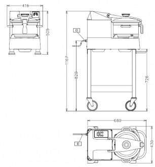 Cutter-mélangeur pour cuisines de collectivités - Devis sur Techni-Contact.com - 2