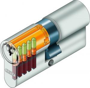 Cylindre de porte 5 goupilles - Devis sur Techni-Contact.com - 3