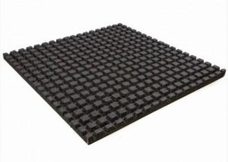 Dalle de protection de sol sportif en grains de gomme - Devis sur Techni-Contact.com - 2
