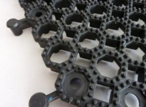 Dalles caillebotis tout terrain en PVC recyclé - Devis sur Techni-Contact.com - 4
