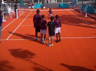 Dalles pour courts mini tennis - Devis sur Techni-Contact.com - 2