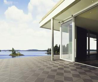Dalles terrasse balcon piscine polypropylène - Qualité scandinave - Devis sur Techni-Contact.com - 1