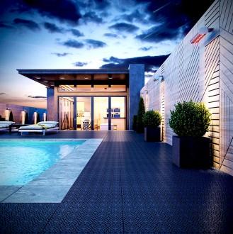 Dalles terrasse balcon piscine polypropylène - Qualité scandinave - Devis sur Techni-Contact.com - 4