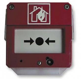 Déclencheur manuel d'alarme incendie - Devis sur Techni-Contact.com - 1