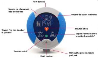 Defibrillateur semi automatique pad - Devis sur Techni-Contact.com - 2
