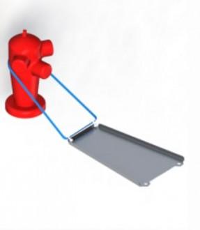 Déflecteur poteau incendie - Devis sur Techni-Contact.com - 1