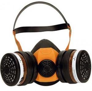 Demi masque de protection respiratoire en caoutchouc ou silicone - Devis sur Techni-Contact.com - 1