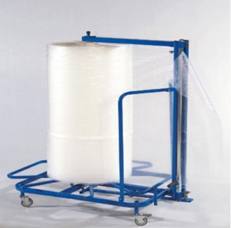 Dérouleur vertical pour film à bulles - Devis sur Techni-Contact.com - 1