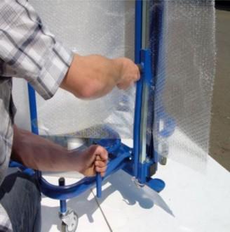 Dérouleur vertical pour film à bulles - Devis sur Techni-Contact.com - 2