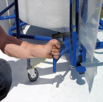 Dérouleur vertical pour film à bulles - Devis sur Techni-Contact.com - 3