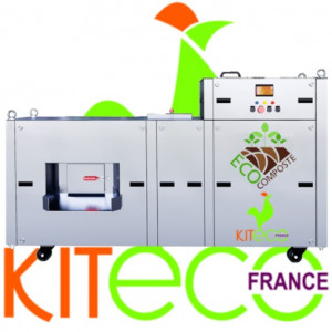 Déshydrateur déchets organiques de 15 kg/jour TOUT INOX - Devis sur Techni-Contact.com - 1