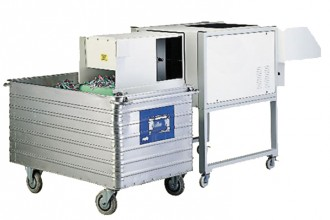 Destructeur papier et CD à tapis convoyeur - Devis sur Techni-Contact.com - 1