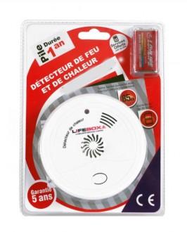 Détecteur de feu et de chaleur - Devis sur Techni-Contact.com - 2