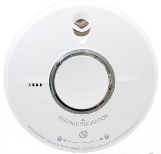 Détecteur de fumée photoélectrique à pile - Devis sur Techni-Contact.com - 1