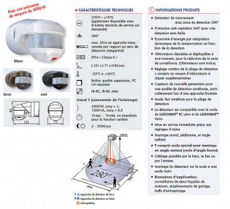 Détecteur de présence 3000W - Devis sur Techni-Contact.com - 2