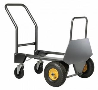 Diable chariot à pelle rabattable - Devis sur Techni-Contact.com - 3