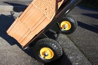 Diable chariot à pelle rabattable - Devis sur Techni-Contact.com - 4