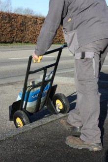 Diable chariot à pelle rabattable - Devis sur Techni-Contact.com - 5