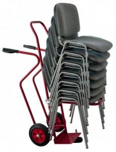 Diable pour manutention chaises empilables - Devis sur Techni-Contact.com - 1